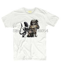 Alien vs predator Mens & Womens Fitness Tee Baseball T Shirt