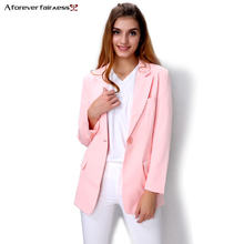 Popular Pink Blazer Jacket-Buy Cheap Pink Blazer Jacket lots from ...