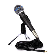 Genuine Professional Wired Condenser Sound Recording Studio Microphone For Computer Broadcasting Karaoke Singing KTV Guitar Mic цены онлайн