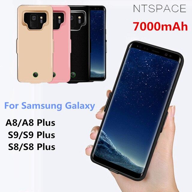 Đối Với Samsung Galaxy S9 S8 A8 Pin Trường Hợp 7000 mAh Phí Ngân Hàng Điện Bìa đối với Samsung S9 S8 Cộng Với Siêu mỏng Pin Sạc Trường Hợp
