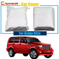 Cawanerl SUV Pokrywa Samochód Na Zewnątrz Deszcz Słońce Śnieg Odporny Na UV Anti Pokrywa Dla Dodge Nitro Samochodów Darmowa Wysyłka!