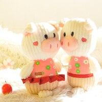 Ücretsiz kargo 23 cm peluş hayvan oyuncaklar yumuşak peluş domuz oyuncaklar promosyon oyuncak Chrismas hediye
