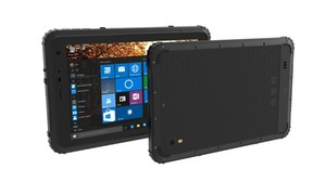 """Image 2 - 2017 промышленный прочный сенсорный планшетный ПК Windows 10 тонкий водонепроницаемый пылезащитный противоударный телефон 8 """"2G RAM GPS 4G LTE Android 5,1"""