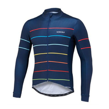 Morvelo Men's Road Bike Jersey Long Sleeve Breathable and Quick Dry Cycling Wear Bicycle Jersey Cycle Clothing maillot Ciclismo