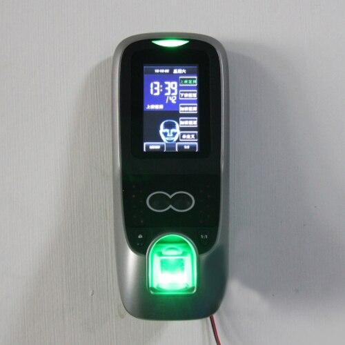 Ip-gesichtserkennungsgerät Face70 Gesichts-zutrittskontrolle Tür Controller Mit Fingerabdruck Und Rfid-kartenleser 1500 Gesicht Kapazität 3 Zoll Touchscreen