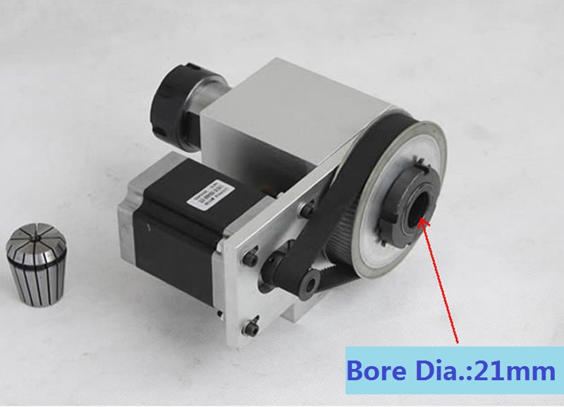 Stepper motor kit picture more detailed picture about for Cnc rotary table with stepper motor