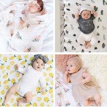 Newborn Baby Swaddle Soft Sleeping Blankets for Baby Kids Game Crawling Mats Children Bedding Linens Blanket 120*150CM