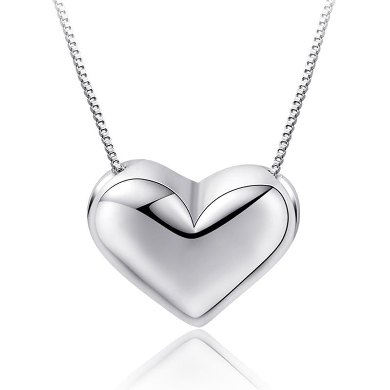 Ожерелье, ожерелье, ювелирные изделия, европейские и американские импортные товары, ожерелье любви, подвеска, женские серебряные ювелирные изделия, оптовая продажа