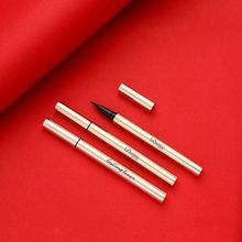 1pc High Quality Eye Liner Waterproof Fine Gold Beginner Eyeliner And Sweatproof Full Size Liquid