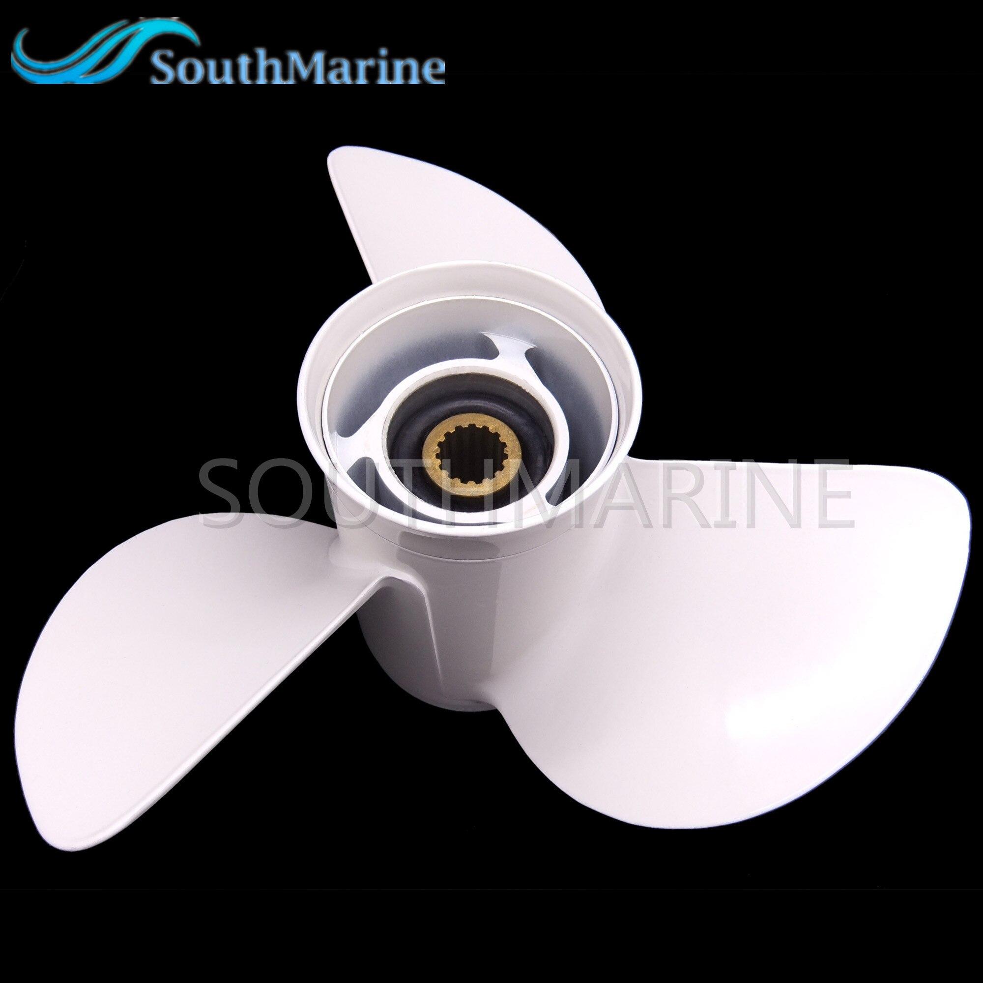 Aluminum Propeller 13 1/4x17 K for Yamaha 50HP 60HP 70HP 75HP 80HP 85HP 90P 100HP 115HP 130HP Outboard Motor,Free Shipping