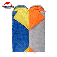 Naturehike 1 Person Sleeping Bag Portable Lightweight Attachable Camping Sleeping Bags Splicing Travel Spring Autumn 8 Degree