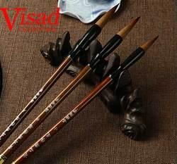 3 قطعة/الحزمة الصينية الخط brushe القلم مع الشعر الفن الفنان فرش pentel اللوحة فرشاة الطلاء