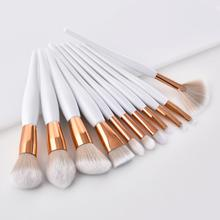 Pinceaux de maquillage simples professionnels de haute qualité, accessoire pour ombre à paupières, sourcils, fond de teint, crayon cosmétique