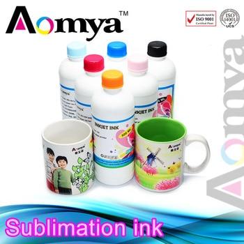Aomya 4pcs/set 4Cx250ML Specialized Heat Transfer Ink for Epson DX5 DX6 DX7 Printer Head Sublimation Ink