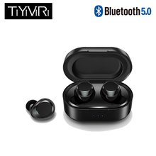 Touch Control Mini Wireless Earbuds 7 Hours Music Time 500mAh Siri control Sports 5.0  Headsets Handsfree for iPhone Smart Phone
