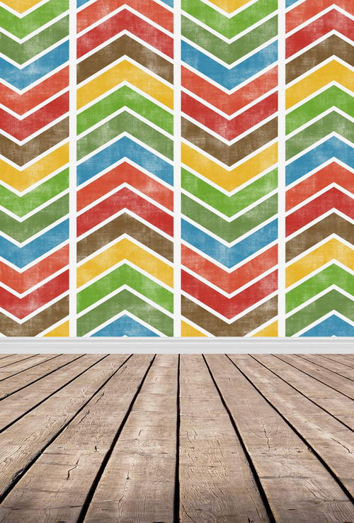 10ft Chevron pattern photography backdrops wood floor vinyl printing party backgrounds for photo studio shoot backdrops F-830 missoni for target travel tote colore chevron pattern