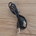 100PCS/lot USB 2.0 A Male to A Female extension cable 0.8 m black color by fedex