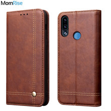 Luxury Retro Slim Leather Flip Cover For XiaoMI RedMi Note 7 Case Wallet Card Stand Magnetic Book Cover For Xiomi RedMi 7 Case(China)