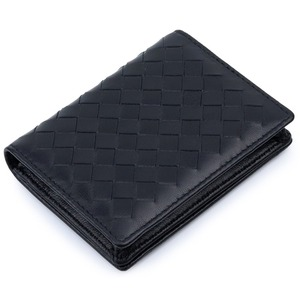 Luxurious Hand Made Soft Sheep Skin Knitting Card Wallets 100% Genuine Leather Hot Brand Business Card Holders Unisex Card Case(China)
