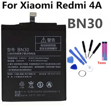 BN30 Mobile Phone Battery For Xiaomi redmi 4A  Real Capacity 3120mAh Replacement Li-ion