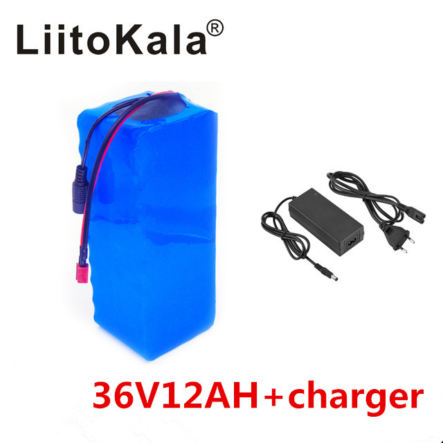 Image 3 - NEW LiitoKala 36V 12AH Electric Bicycle Battery Built In Lithium Battery BMS 20A 36 Volt With 2A Battery Charge Ebike-in Battery Packs from Consumer Electronics