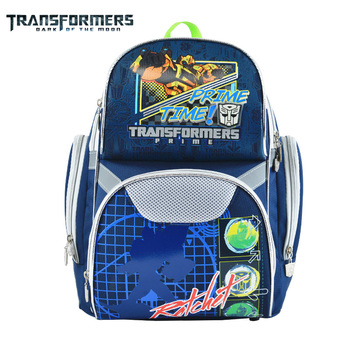 цена на TRANSFORMERS school bags Kids backpack boys girls school backpack for kids Cartoon style double front pocket light in weight