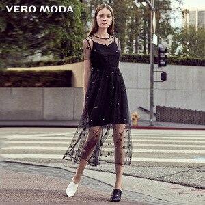 Image 2 - Vero Moda Embroidered Gauzy Slip Dress Party Dress