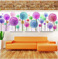 5D DIY Diamond Painting Flower Dandelion Diamond Painting Rhinestone Cross Stitch Diamond Embroidery Wall Decoration ST1134