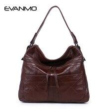2018 Newest Women Soft Genuine Leather Crossbody Bag Women Luxury Messenger Shoulder bag OL bag lady office daily Handbags
