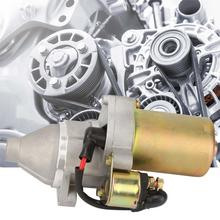 Permanent Magnet Deceleration 12V 0.4KW Gasoline Engine Starter Motor Electric Inverse Rotation Start