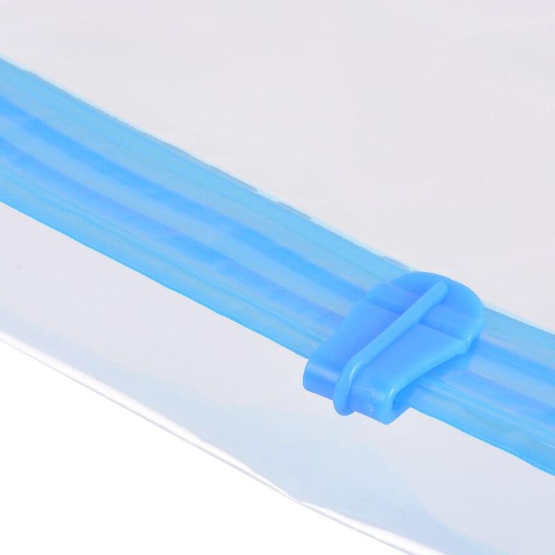 Loozykit органайзер для хранения одежды пластиковый прозрачный вакуумный мешок для путешествий большой складной компактный уплотнительный мешок шкаф для дома