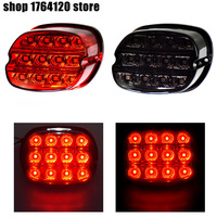 Motorcycle Parts Led Brake Tail Light Smoke/Red For Harley Touring Softail Sportster FXST FXSTS FXST 2003 later|  -