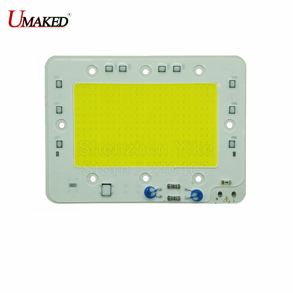 100W 135x100mm LED COB Lamp Integrated High Power Light AC220V 110V Lamps With Smart IC Driver Spotlight White / Warm White