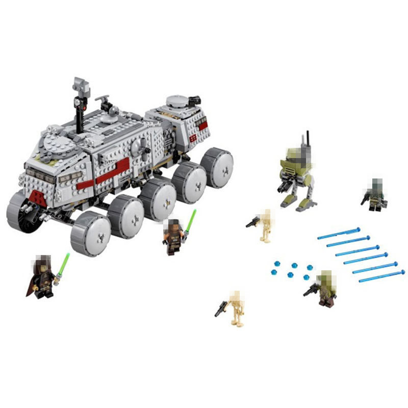 LEPIN 05031 933Pcs Star Clone Turbo Tank Building Blocks Compatible with  STAR PLAN Toy Boys Toys Gift wars lepin 02012 city deepwater exploration vessel 60095 building blocks policeman toys children compatible with lego gift kid sets