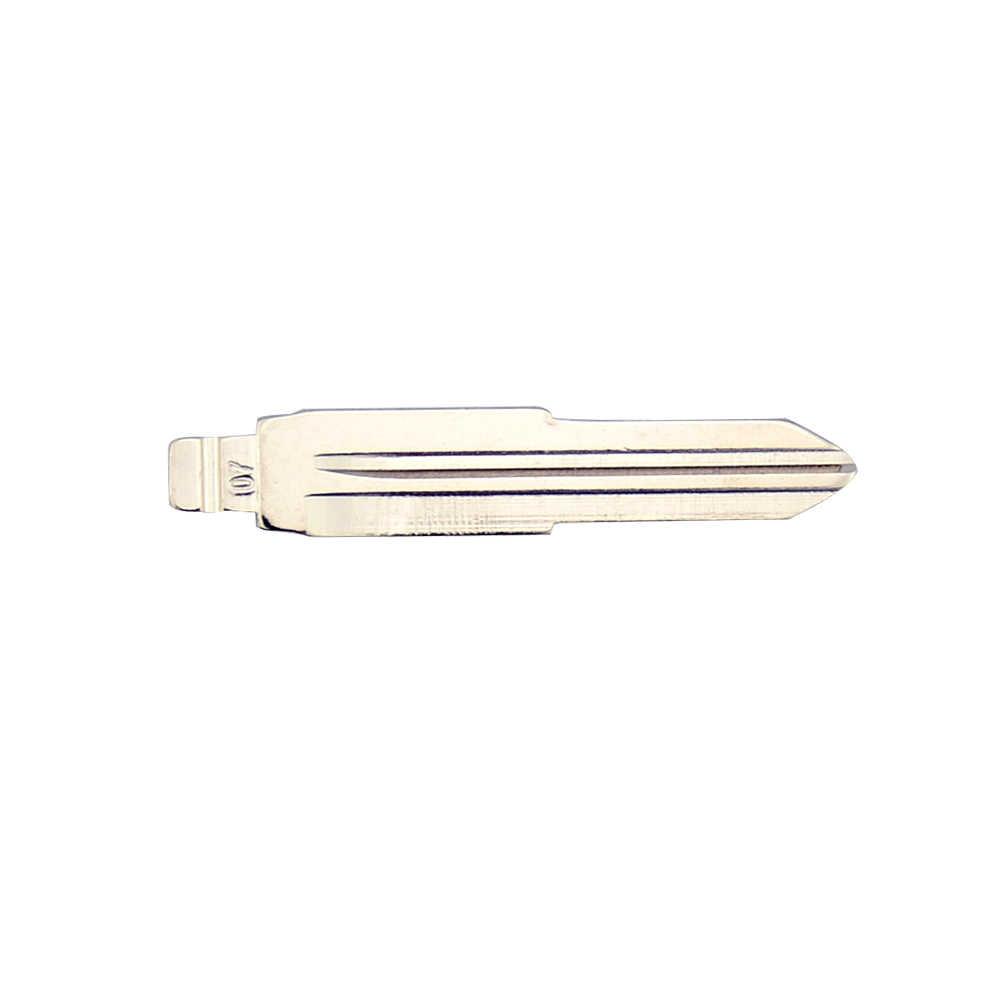 OkeyTech 5PCS/LOT New Styling Metal Blank Uncut Flip KD Remote Key Blade Type #07 for Mitsubishi Key Blade