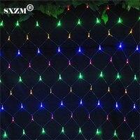SXZM 3 M x 2 M אור LED הנקי קישוט חג המולד מקורה 200 נוריות איחוד אירופי/ארה