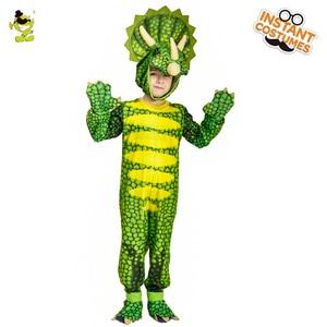 Image 2 - Kids Dinosaur Triceratops/Tyrannosaurus/Stegosaurus Costume Cosplay Mascot Animal Clothes Role Play for Halloween Party