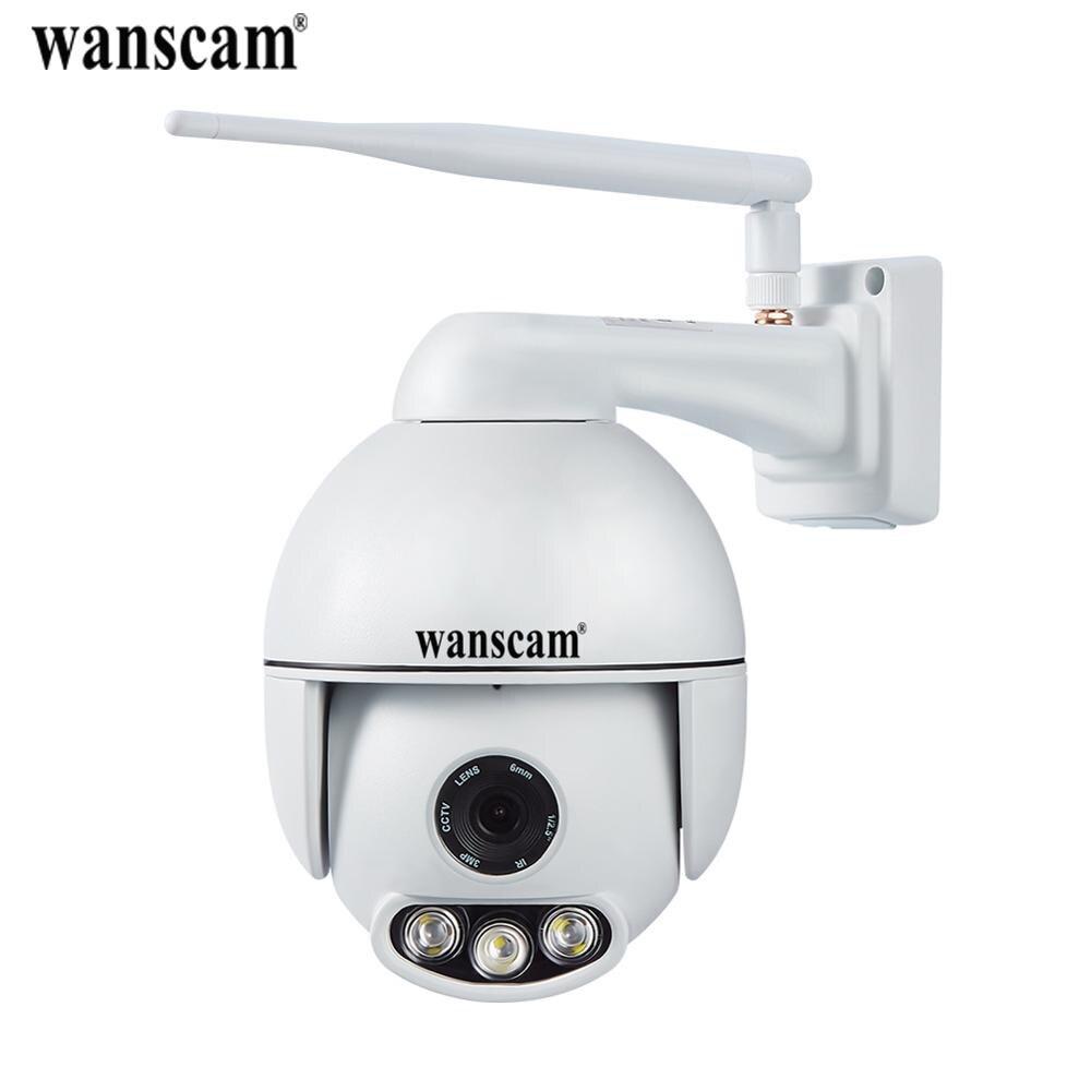 Wanscam K54 1080P WiFi Wireless IP Camera FHD Face Auto Tracking PTZ Pan Tilt 4X Zoom