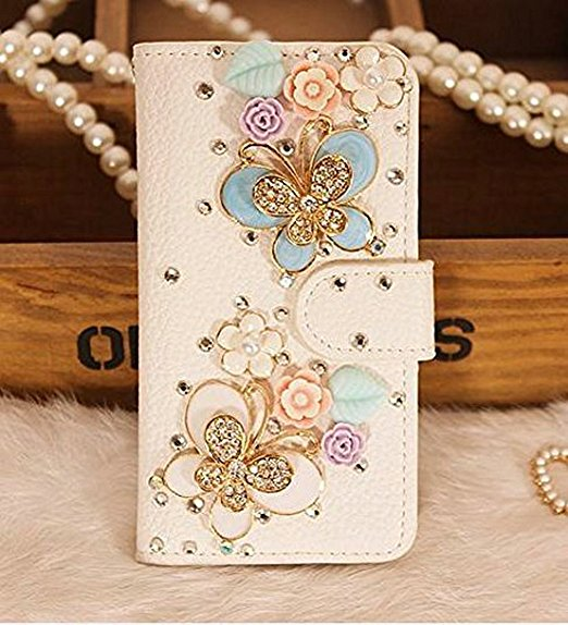 Luxury Bling Crystal Rhinestone Wallet Leather Purse Flip <font><b>Card</b></font> Pouch Stand Cover <font><b>Case</b></font> For <font><b>iphoneX</b></font> XS MAX XR 5S 6 7 8 PLUS image