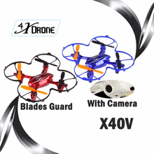 rc Quadcopter with Camera X40V 4CH 2.4G Remote Control Toys for kid RC Helicopter Drone For Adults RC Digital Camera Heilcopter