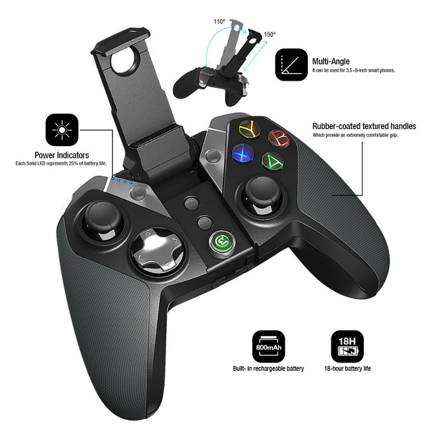 GameSir G4 Top Gamepad Bluetooth Game Controller Wireless 4.0 USB wired Joystick For Mobile Phone Android Samsung 2