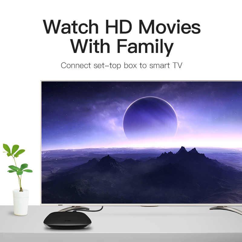 Адаптер-переходник Vention HDMI дви кабель 1 м 2 м 3 м 5 м DVI-D DVI 24 + 1 шарнирно-неподвижная Опора 1080 P 3D высокое Скорость HDMI кабель для LCD DVD HDTV xbox проектор PS3