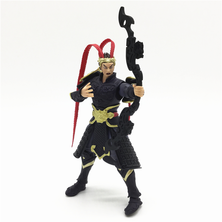 KILLERS OF THE THREE KINGDOMS legends Lv Bu 1 18 super movable figures NEW BOXED Model Kids Toys doll S 050 in Action Toy Figures from Toys Hobbies