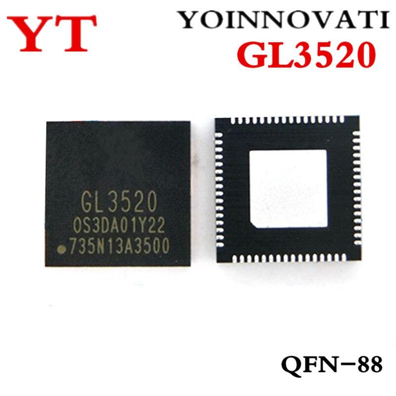 Free Shipping 5pcs/lot  GL3520 3520 QFN88 IC Best Quality