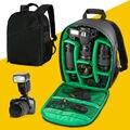 Новый DSLR Камеры Сумка Водонепроницаемый Рюкзак сумка для Фотокамеры Vintage Видео Фото Сумки для d7100 Камеры mochila Бесплатная доставка