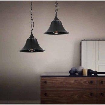 Подвесной светильник в промышленном стиле, Ретро стиль, светильники Эдисона, светильники в американском стиле, Деревенское домашнее освеще...