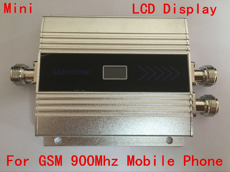 New Hot Sale !! Tow Indoor Antenna LCD Screen Display Repeater GSM 900Mhz Cell Phone Signal Repeater Booster Amplifier