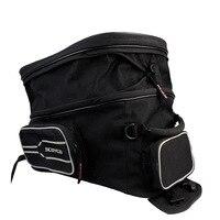 YUANMINGSHI Waterproof Motorcycle Tank Bag Motorbike Oil Fuel Tank Bag Multi Function Portable Luggage Universal Bike Saddle Bag