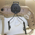 Tactical Airsoft OPS CORE style Helmet Rail Headset Accessories FMA Z3AD Peltor For Compact BK
