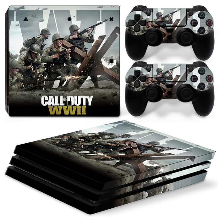 PVC Skin Sticker for PS4 pro Console and Controllers stickers  For Ps4 pro skin sticker for ps4 pro sticker-1497 1
